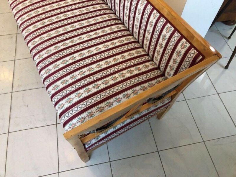 Originales restauriertes Biedermeier Sofa Couch Z1233 9