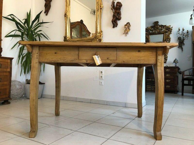 Alter Bauerntisch Tisch Landhaustisch Naturholz Z1194