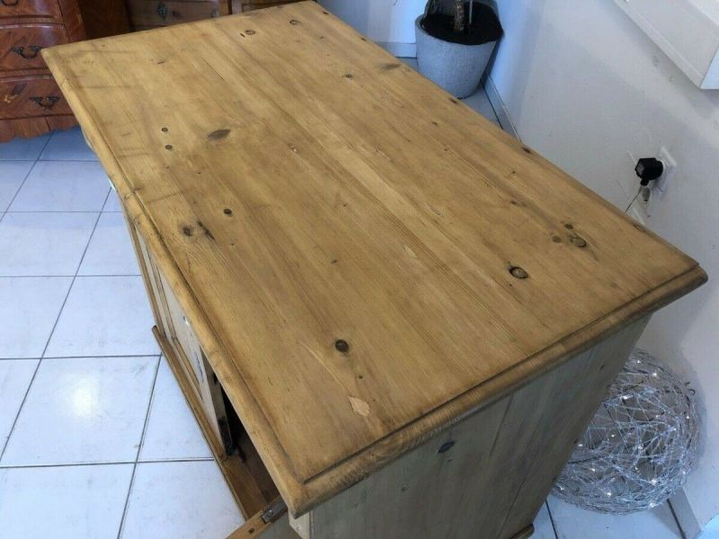 Bäuerliche Anrichte Sideboard Kommode Naturholz Z1227 2