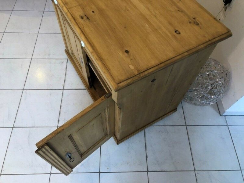 Bäuerliche Anrichte Sideboard Kommode Naturholz Z1227 3