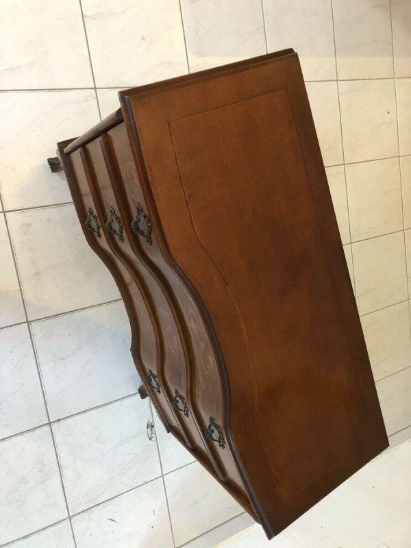 Hübsche 3 Laden Kommode Barockstil Marketiert Z1280 3