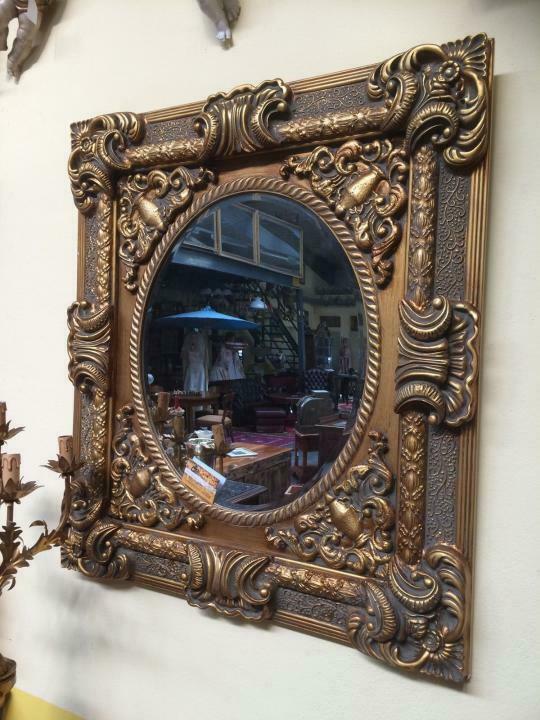 Prächtiger Wandspiegel Spiegel Barock Dekospiegel Nr. 8202