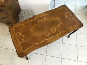 Hübscher Barockstil Couchtisch Tisch Z1416