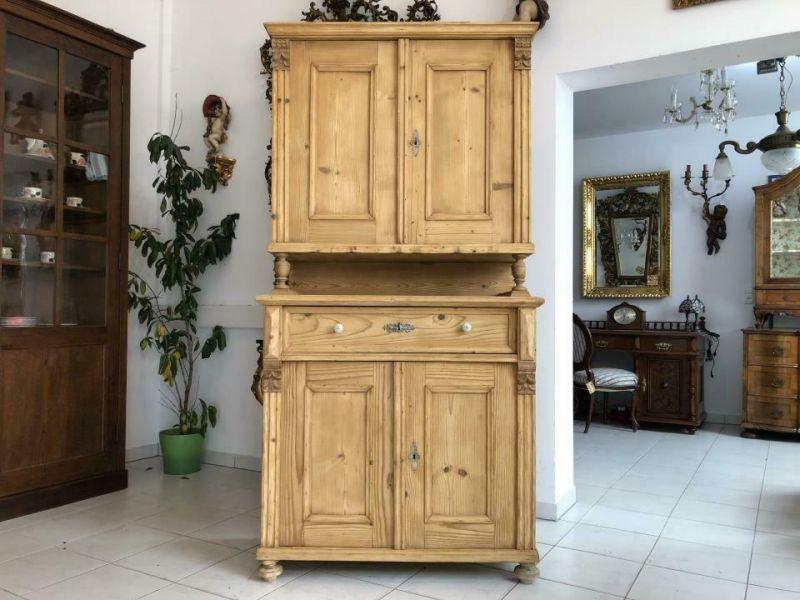 Hübsches Küchenbuffet Küchenschrank Bauernschrank Landhausmöbel X1723
