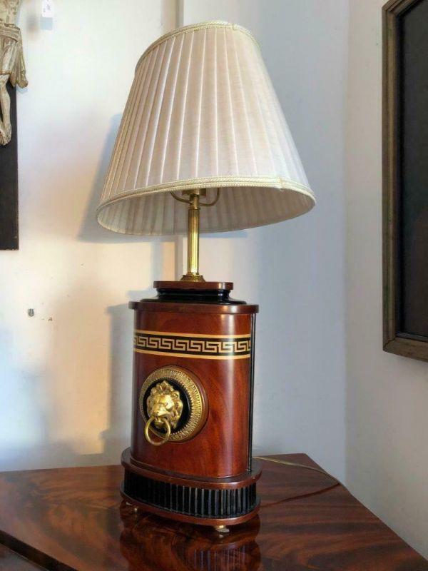 Empire Stil Tischlampe einfalmmig prunkvoll hübsch Z1180