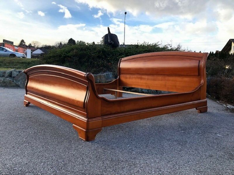 Hübsches italienisches Doppelbett Bett Schlafzimmer X2673 1