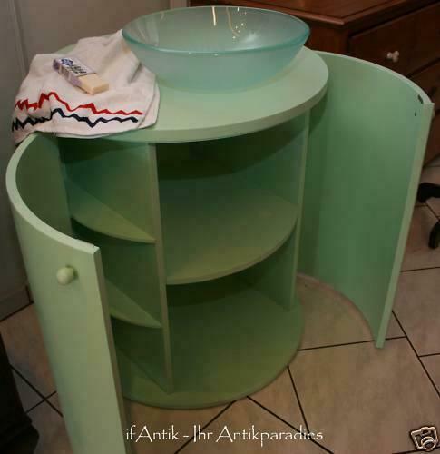 Details zu   Waschtisch Bad Designer Stück mit Rundbecken