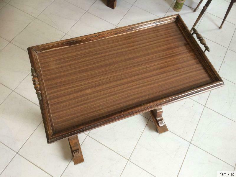Stilvoller Gründerzeit Serviertisch Tischerl Beistelltisch 8061