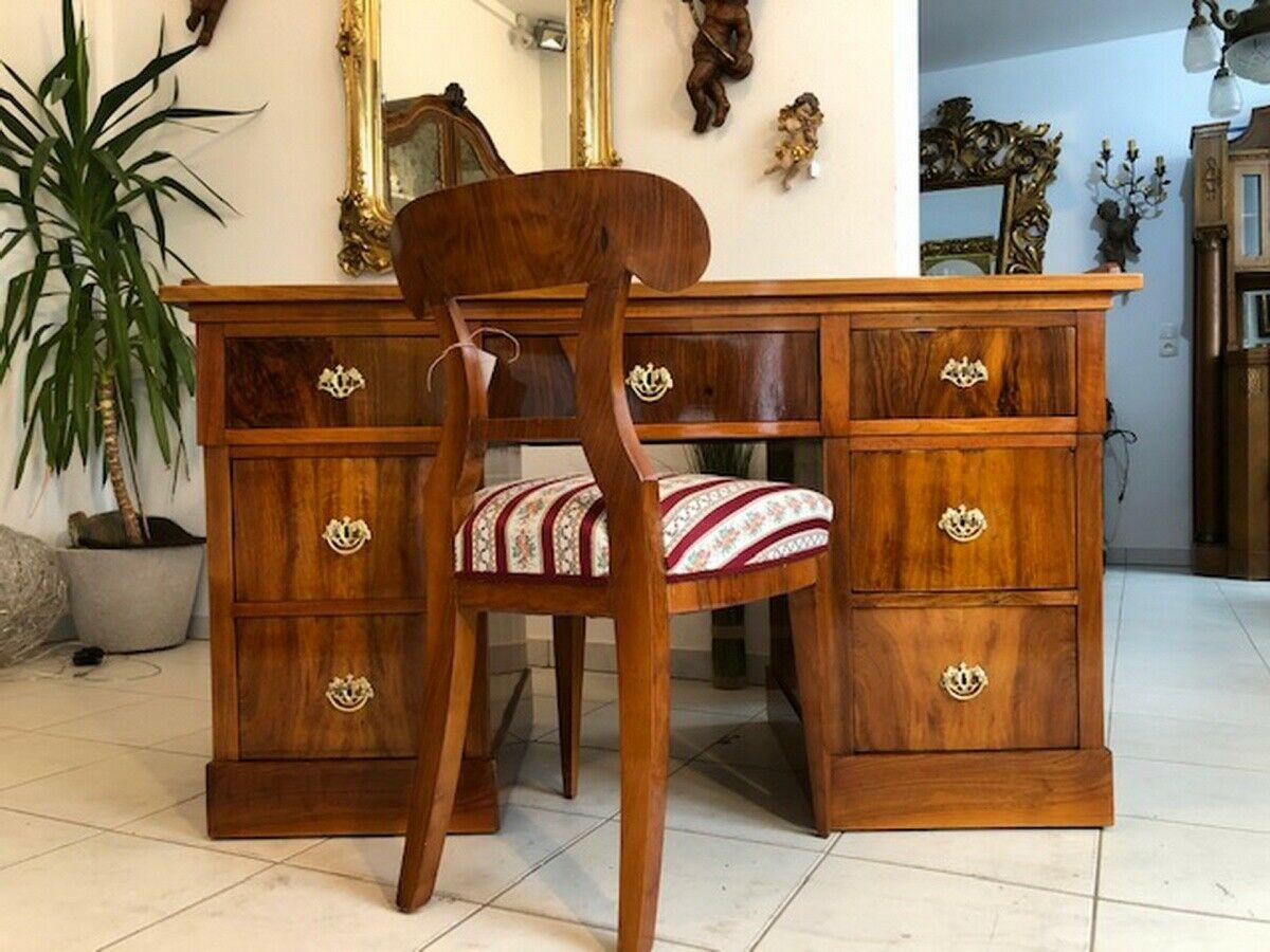 Originaler Spätbiedermeier Schreibtisch Sekretär Schreibmöbel Z1369