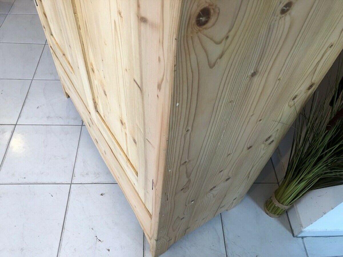 Jugendstil Bauernschrank Kleiderschrank Naturholz X2629 11
