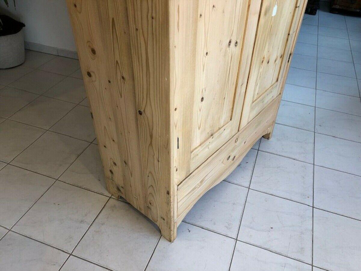 Jugendstil Bauernschrank Kleiderschrank Naturholz X2629 4