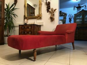 Originales Altdeutsches Sofa Liege  Schlafsofa Chaiselongue X2644