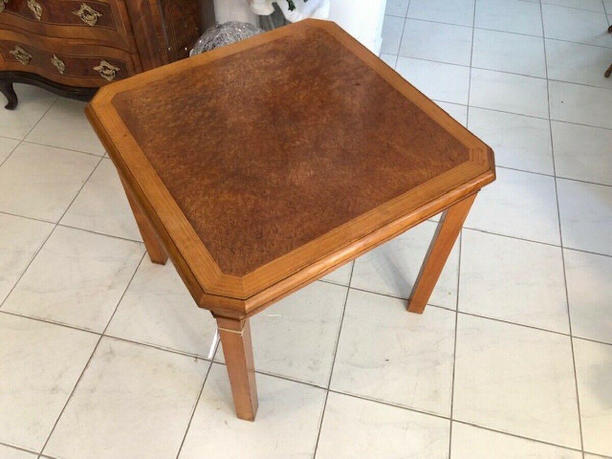 Stilvoller Barockstil 4eckiger Tisch Beistelltisch X2670