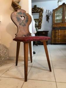 Bauernsessel Sessel Stuhl Landhaussessel Fichtenholz X2707