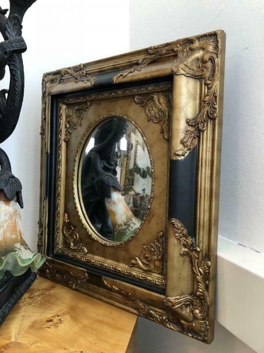 Floraler Wandspiegel Spiegel Barock Stil geschliffen - X1841 2