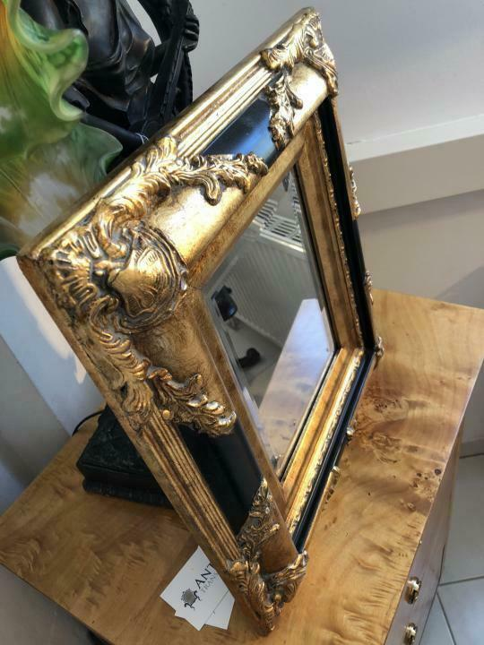 Eckiger Wandspiegel Spiegel Barock Stil geschliffen - X1843