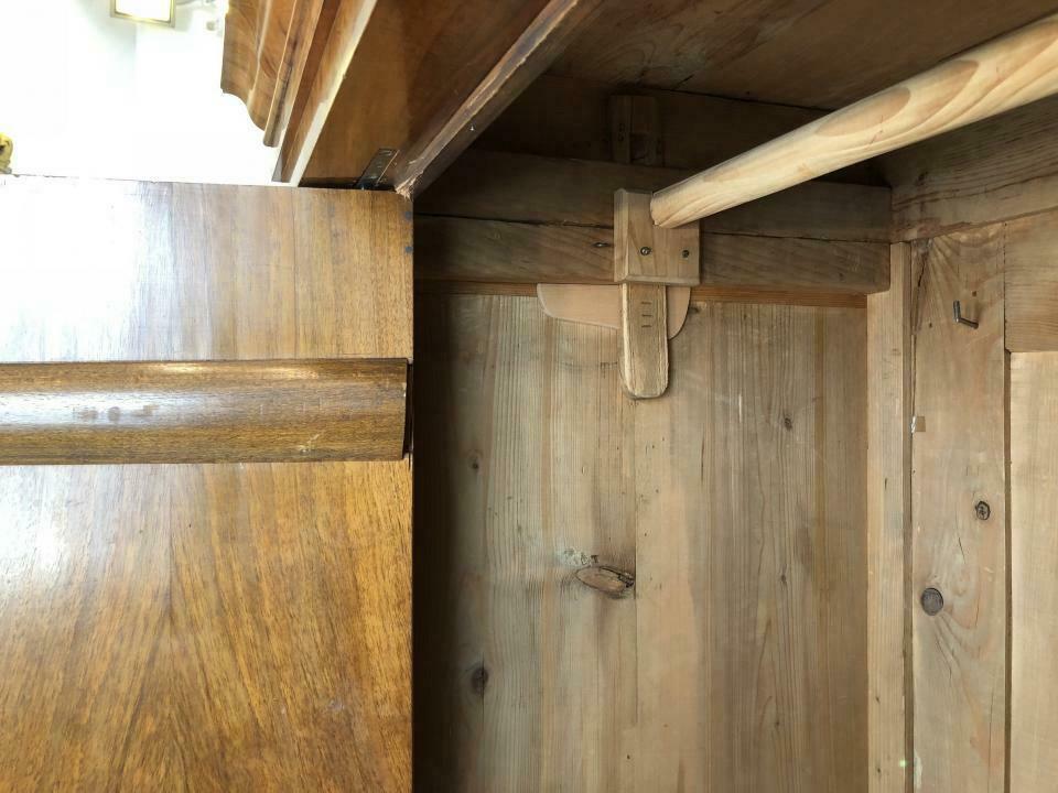 Biedermeier Schrank Kleiderkasten Hallenschrank Bücherschrank x1816 5