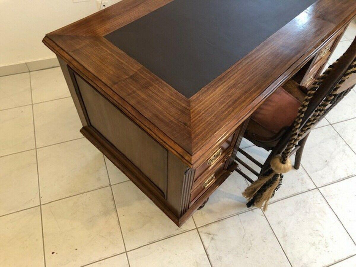 Historismus Schreibtisch Sekretär Restauriertes Schreibmöbel Z1120 4