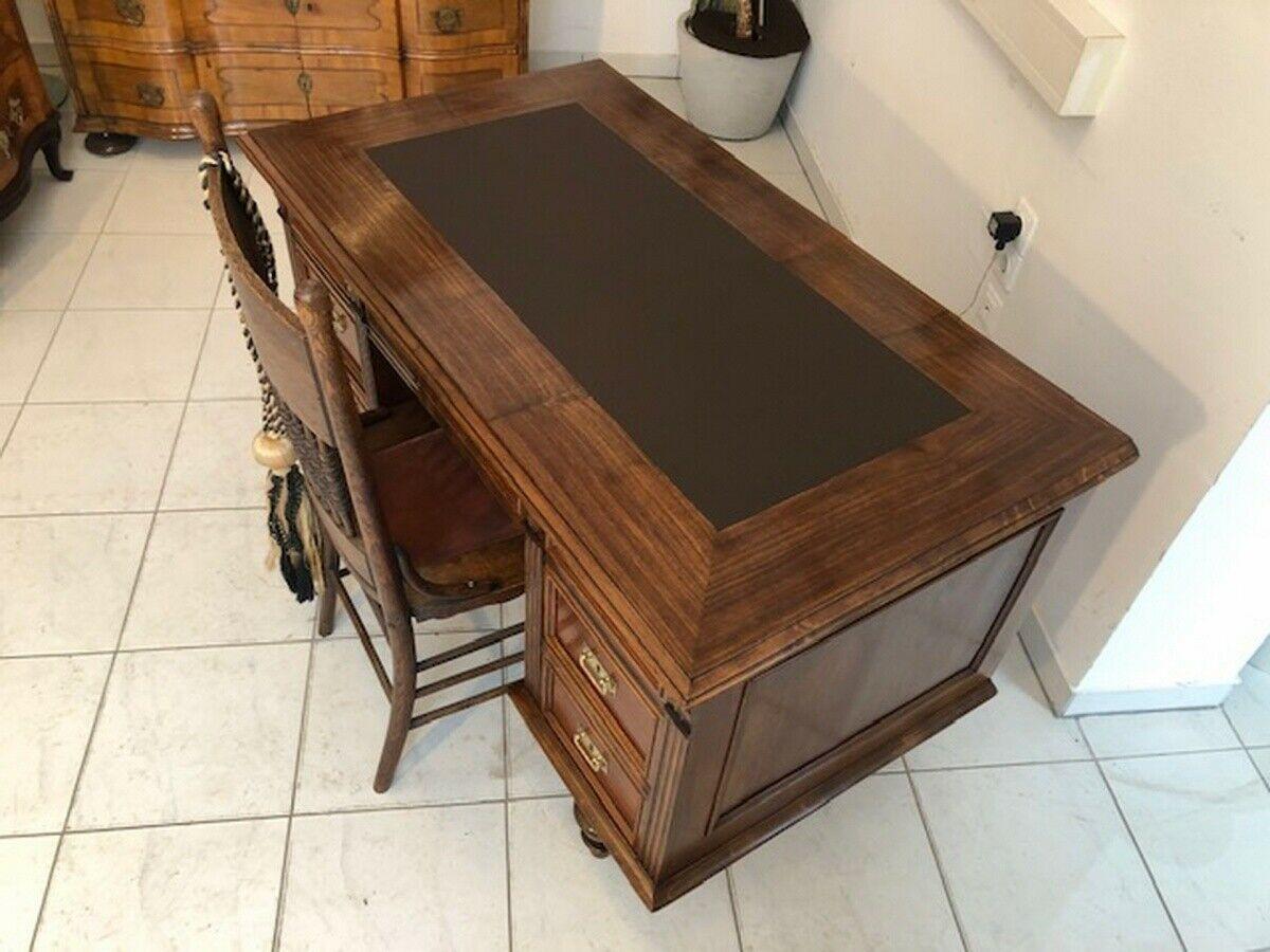 Historismus Schreibtisch Sekretär Restauriertes Schreibmöbel Z1120 5