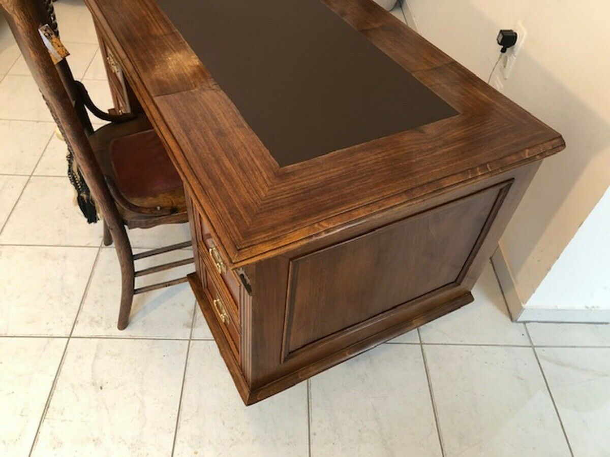 Historismus Schreibtisch Sekretär Restauriertes Schreibmöbel Z1120 6