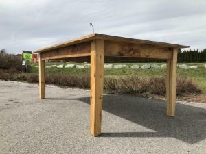 Alter Tisch Bauerntisch Jogltisch Landhaustisch Naturholz Brettholztisch 2,0m X1