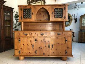 Hübsche Zirbenholz Kredenz Aufsatzkredenz Küchenschrank Buffet - X1157