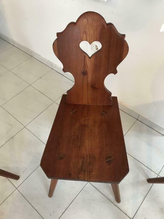 Uriger Bauernsessel Sessel Stuhl Herzerlsessel Zirbenholz W3102