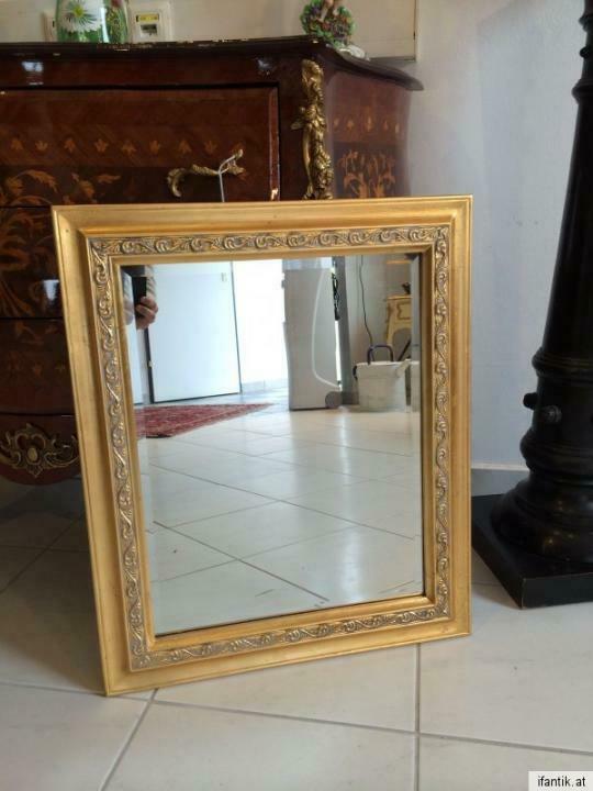 Floraler Wandspiegel Spiegel Barock Stil geschliffen 6957 1