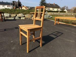 Bauernsessel Sessel Stuhl Landhaussessel Naturholz sandgestrahlt Nr.6380