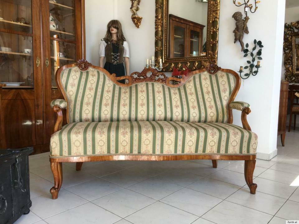 Gründerzeit Sofa Diwan Couch Liege Fledermaussofa A1381 0