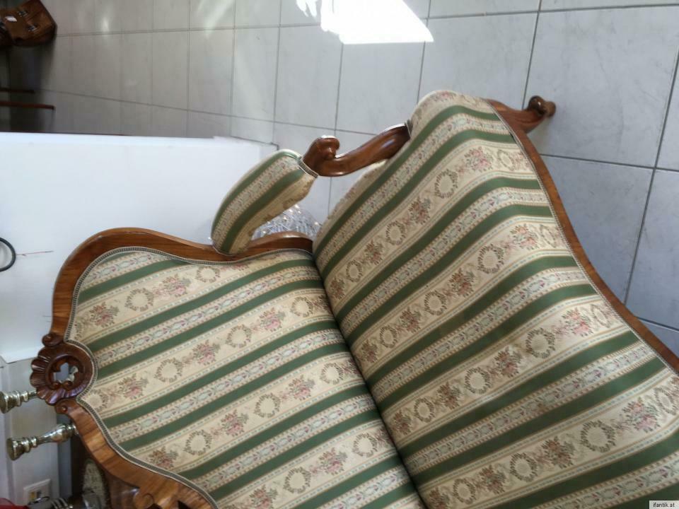 Gründerzeit Sofa Diwan Couch Liege Fledermaussofa A1381 3