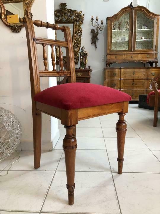 Bauernsessel Sessel Stuhl Sprossenstuhl Zirbenholz x1908 0