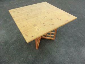 Bauerntisch Massivholz Landhaustisch Tisch Naturholz 5928
