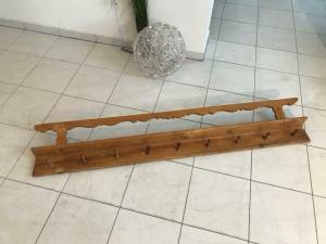 Uriges Wandregal um 1865 Original Board Stellage Tellerboard - W1634