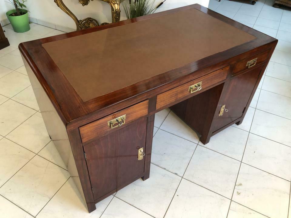 Originalstück Jugendstil Schreibtisch Sekretär Schreibmöbel Desingerstück X1569 1