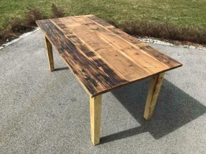 Alter Tisch Bauerntisch Jogltisch Landhaustisch Naturholz Brettholztisch 1,80m X