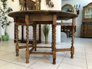 Historismus Spieltisch Klapptisch Beistelltisch Wangentisch X1154