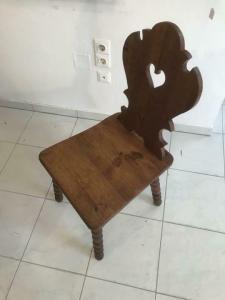 Uirger alter  Bauernsessel Sessel Stuhl Herzerlsessel W3314