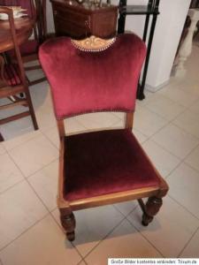 Historismus Konferenzstuhl Sessel Stuhl Schreibtischsessel Nr. 5455