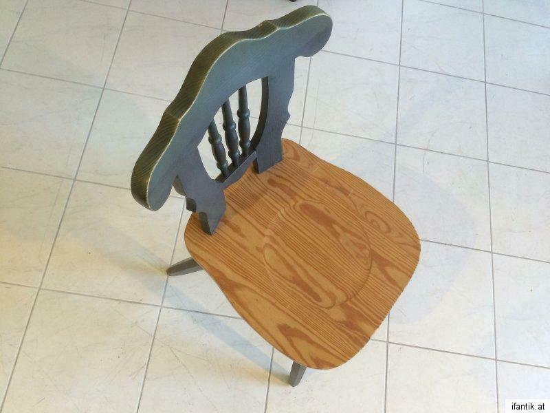 Massiver Bauernsessel Stuhl Sessel Bauernstuhl Naturholz Nr.7366 1