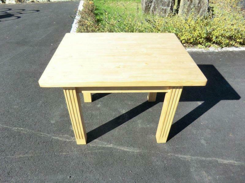 Bauerntisch Massivholz Landhaustisch Tisch Naturholz Nr.5969 1