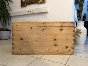 Truhe Bauerntruhe Landhaustruhe Naturholztruhe Z1016