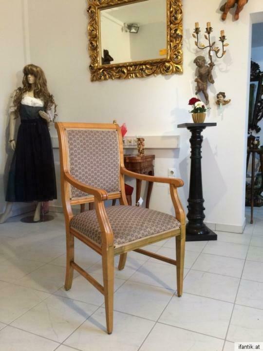 Armlehnstuhl Fauteui Barock Schreibtisch Sessel Stuhl Nr. 7071 2