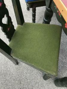 Eckbank Zirbenholz Bauernensemble Tisch 2 Sessel W1759