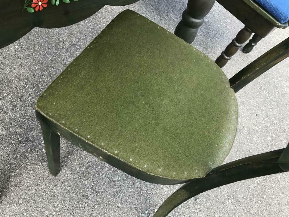Eckbank Zirbenholz Bauernensemble Tisch 2 Sessel W1759 1