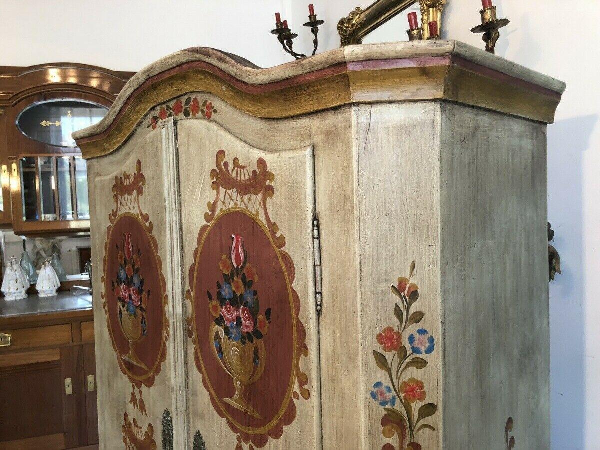 Originaler Biedermeier  Bauernschrank aus Oberösterreich Kleiderschrank Z1878 7