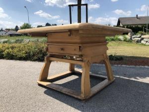 Alter Bauerntisch Jogltisch Tisch Landhaustisch Naturholz Z1818