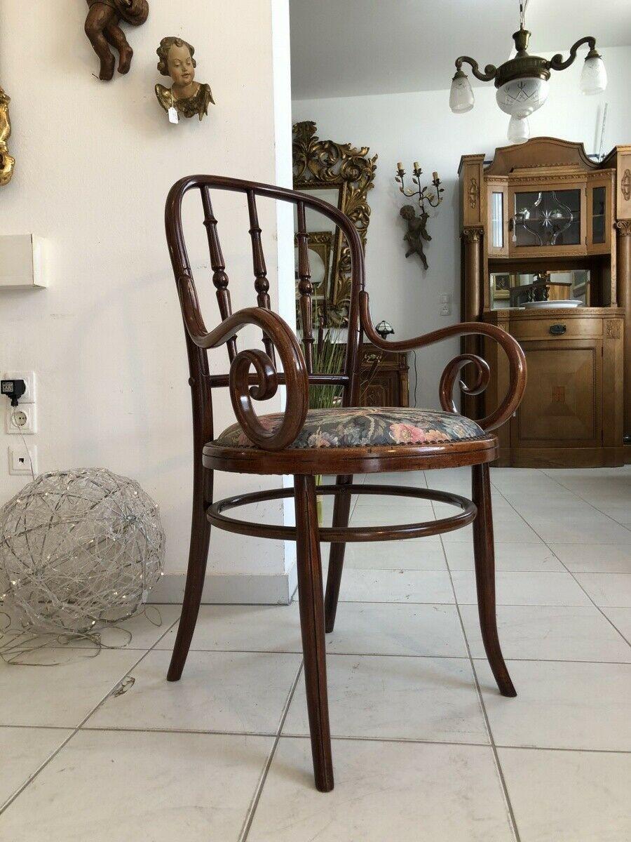 Armlehn Thonet Sessel Z1792 Schreibtisch Bugholzmöbel Stuhl Sessel vONnwm80