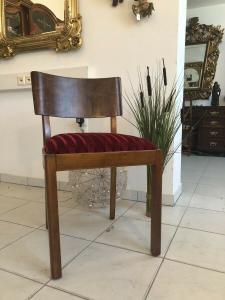 Hübscher Art Deco Sessel Schreibtischsessel Z1762