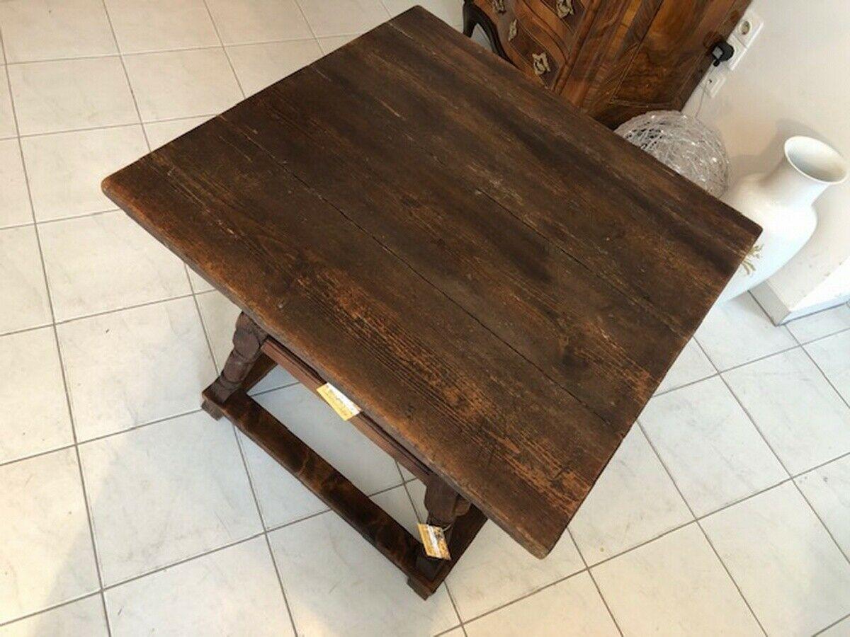 Alter Jogltisch  Tisch Bauerntisch Landhaustisch Naturholz X2747 4
